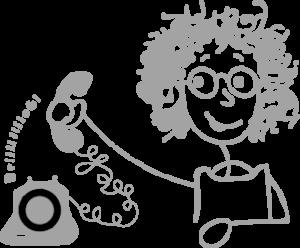 Craquotte au téléphone
