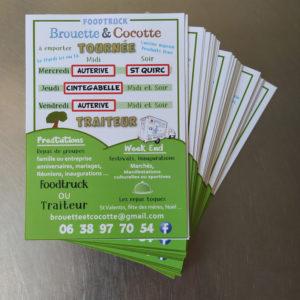 Flyer Brouette et Cocotte